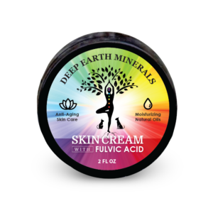 Skin Cream with Fulvic Acid